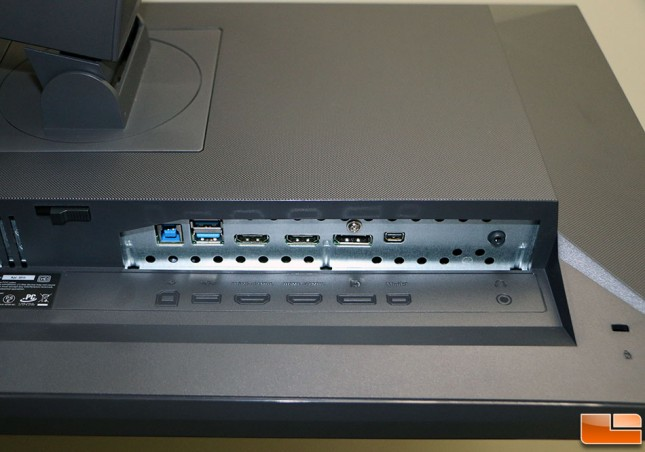 ASUS MG279 Video Inputs