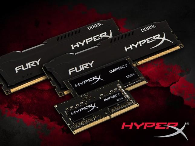 HyperX FURY DDR3L Impact DDR4