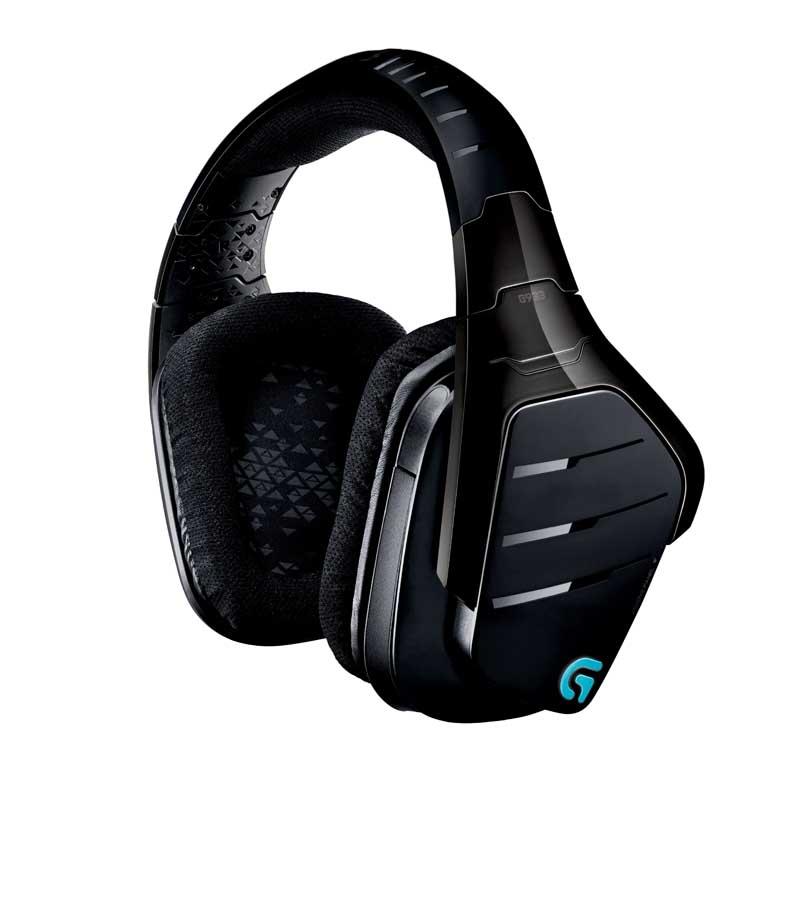 Wireless gamer headphones with mic - pc headphones with no mic