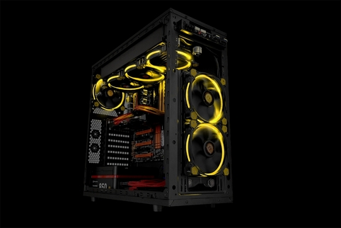 Thermaltake Launches Riing 12 And 14 Led Radiator Fan
