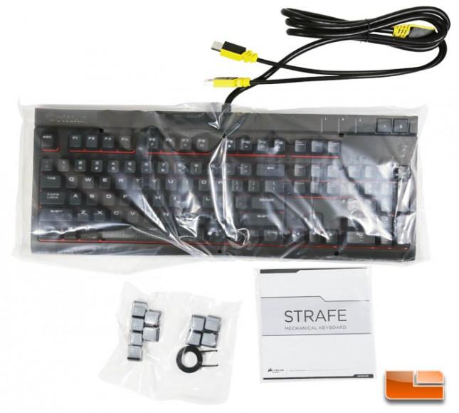 Corsair Gaming Strafe Mechanical Keyboard