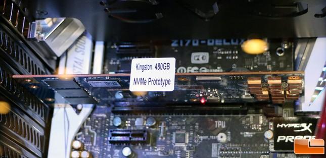 HyperX Predator M.2 PCIe NVMe SSD