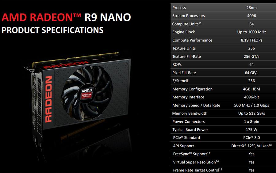 AMD Radeon R9 Nano 4GB Video Card Review - Legit ReviewsAMD