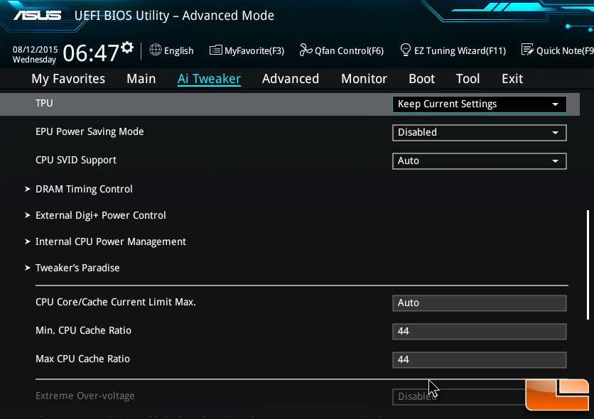 Intel Core i7-6700K Cache Overclocking With DDR4 3600 MHz
