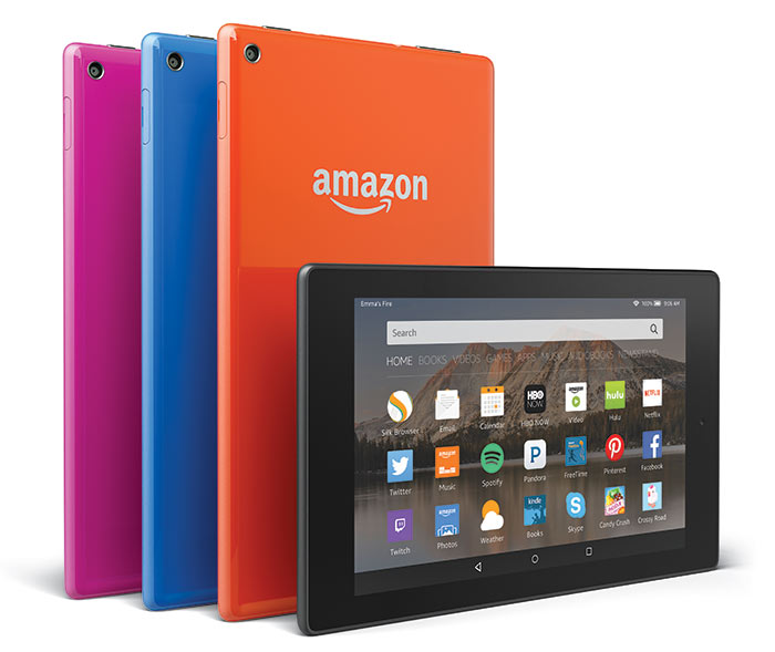 Amazon Introduces New Fire HD Tablets for Entertainment