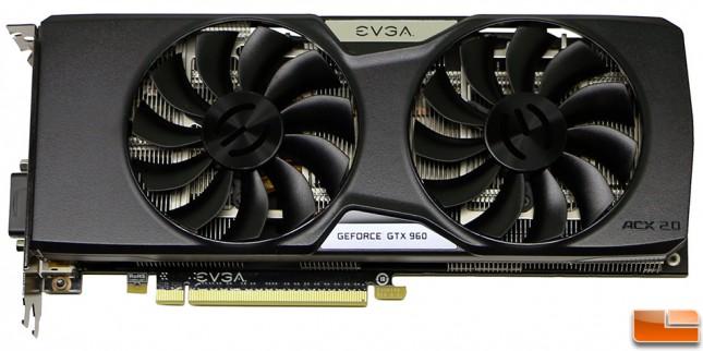 EVGA GeForce GTX 960 SSC 4GB Front