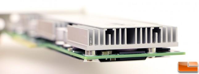 Intel SSD DC P3608 Heatsink