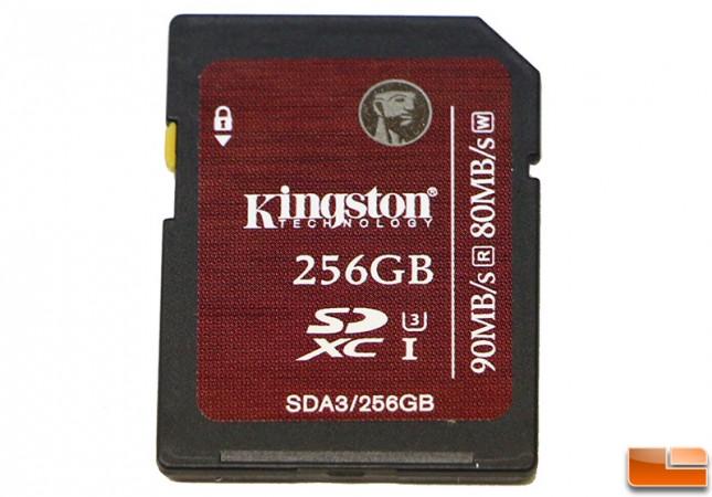 Kingston SDXC UHS-I U3 256GB