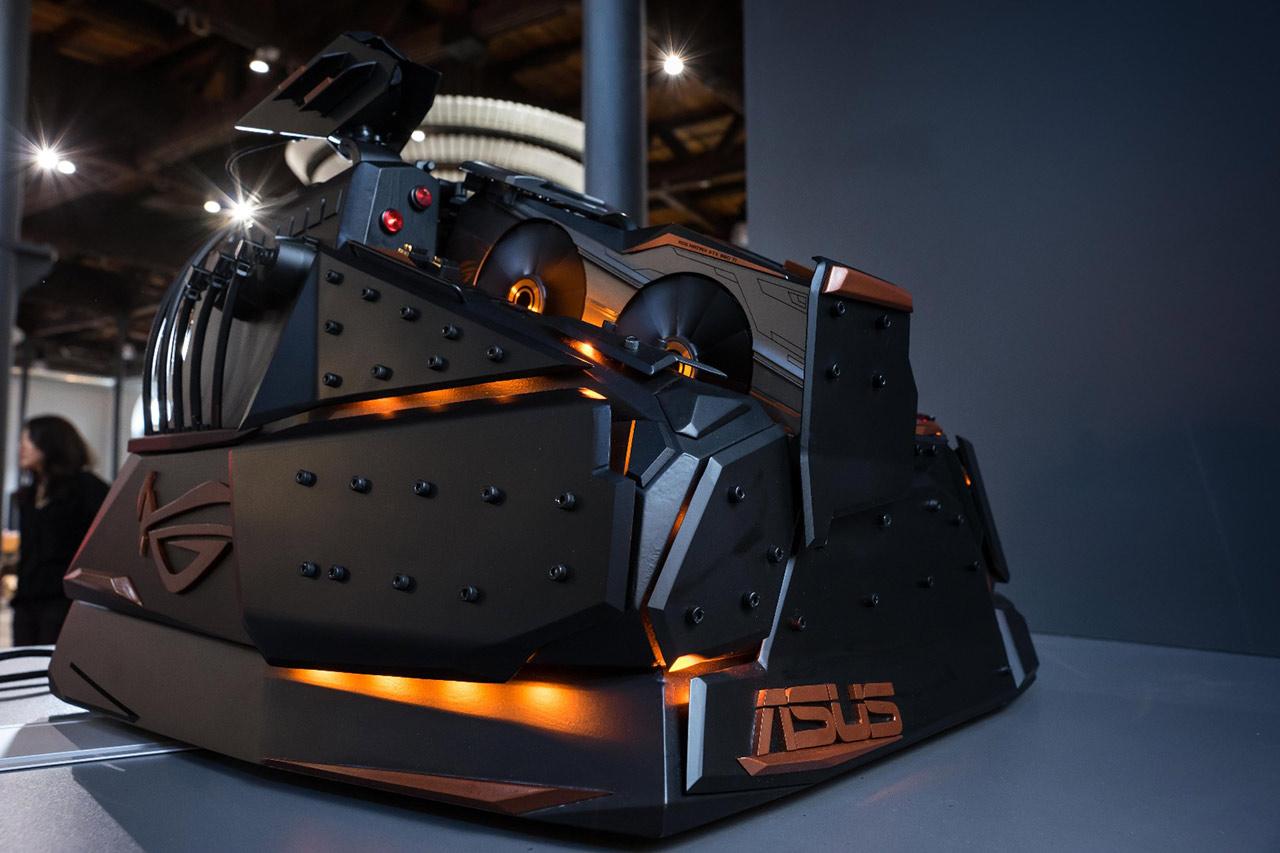 ASUS ROG Maximus VIII Extreme and ROG Matrix GTX 980 Ti Platinum Pictured - Legit Reviews