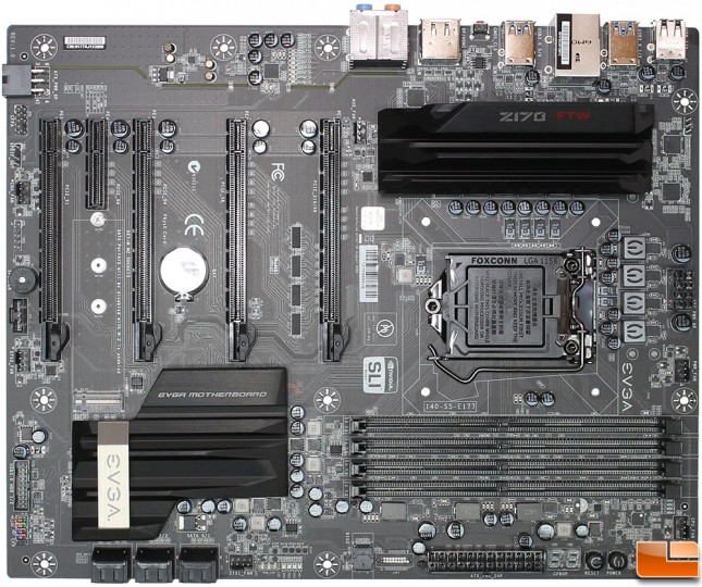 EVGA-Z170-FTW-Top-Overview
