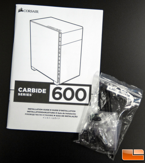 Corsair Carbide 600C Accessories