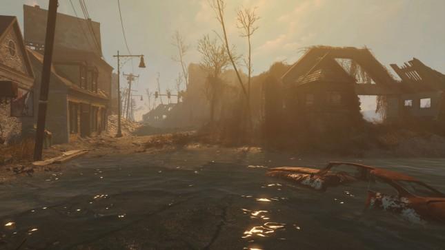 Fallout 4 Volumetric Lighting