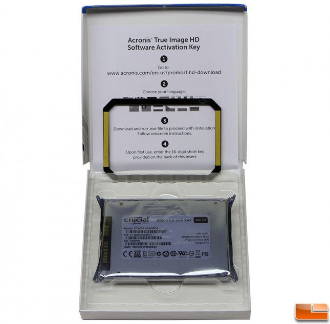 Crucial BX200 480GB SSD Bundle