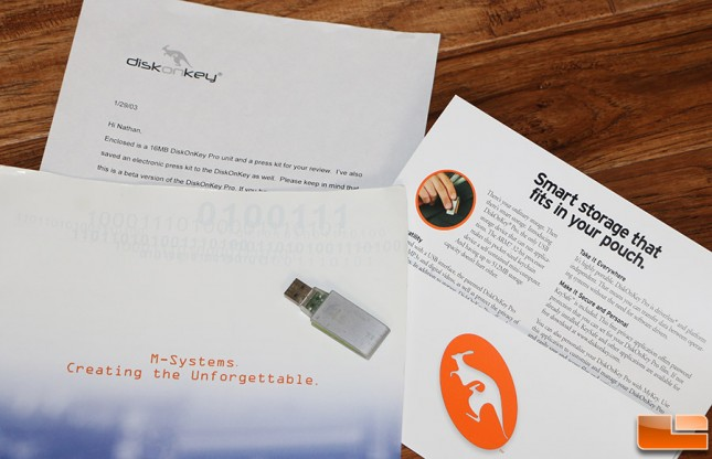 m-systems diskonkey flash drive