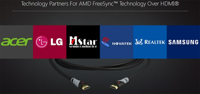 AMD FreeSync Over HDMI Partners