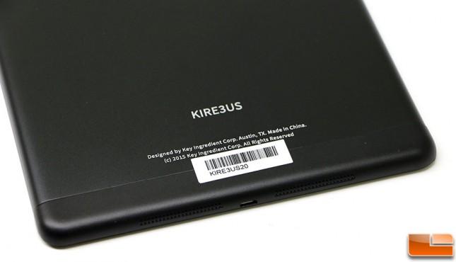 Key Ingredient Recipe Reader HD+ Speakers