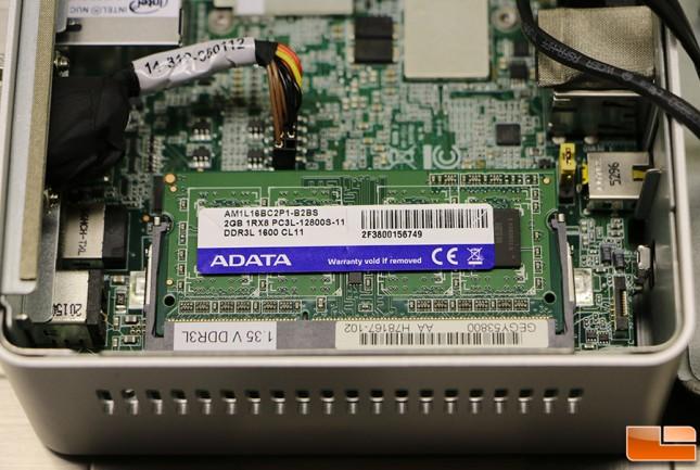 Intel NUC NUC5PGYH DDR3L
