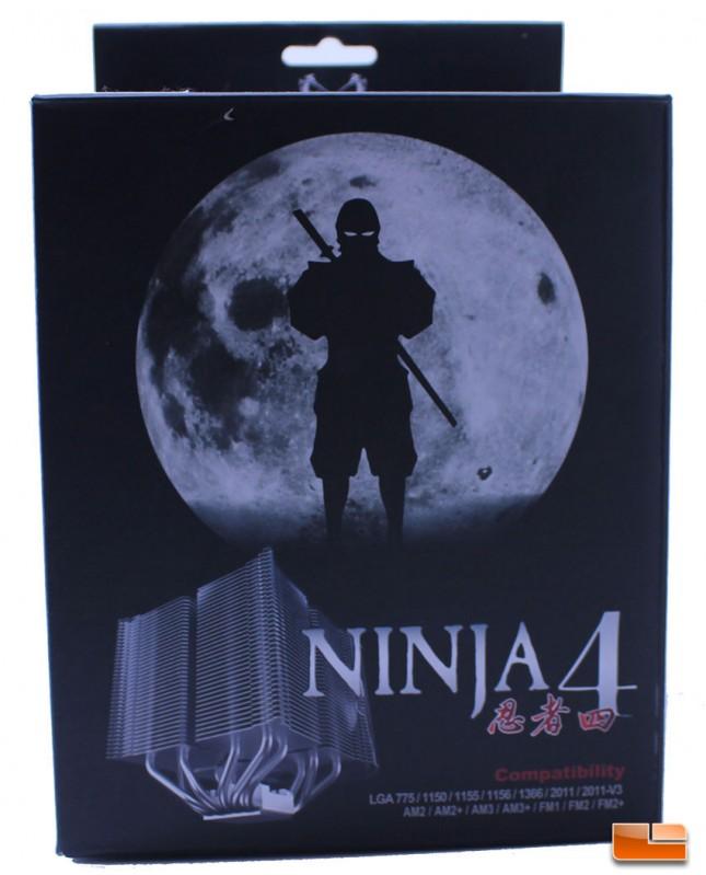 Scythe Ninja 4 Retail Packaging