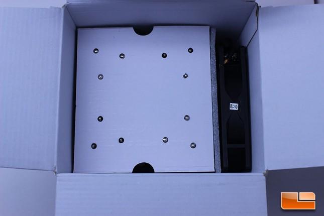 The inside of the Ninja 4 box is very basic