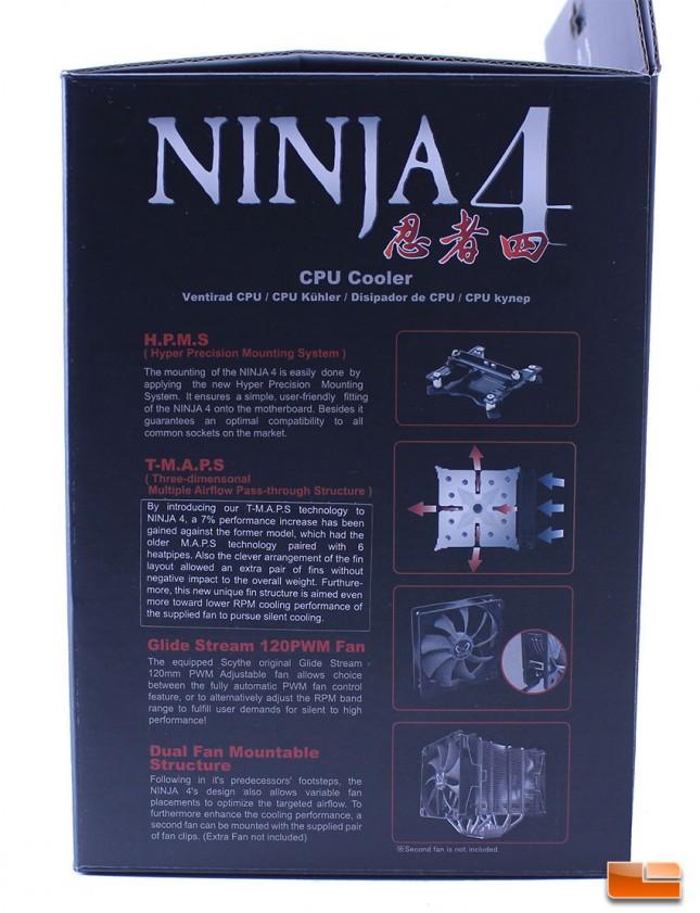 Scythe Ninja 4 Marketing Information