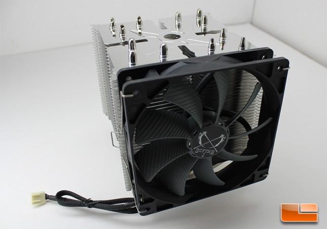 Scythe Ninja 4 with Glide Stream fan installed