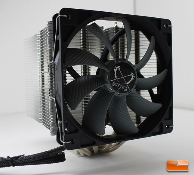 Scythe Ninja 4 with GlideStream 120mm fan
