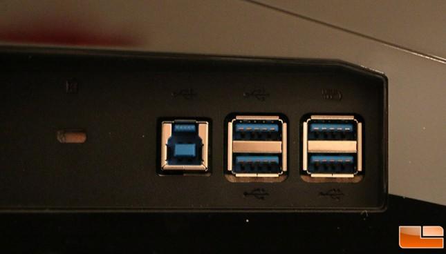 Acer X34 USB 3.0 Ports