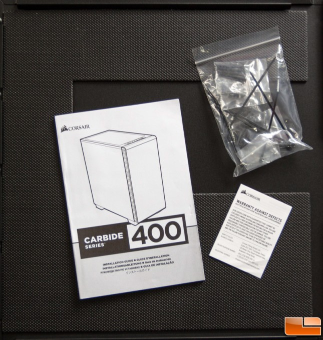 Corsair Carbide 400Q Accessories