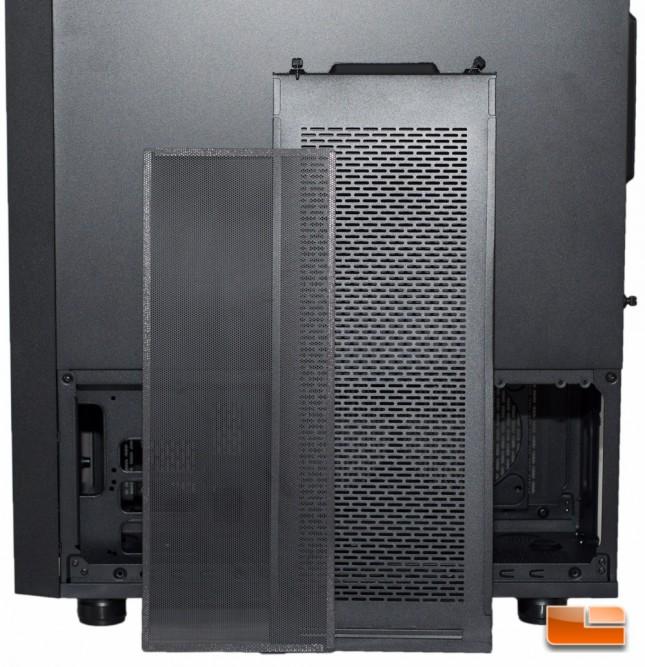 Thermaltake Core X71 - Filter