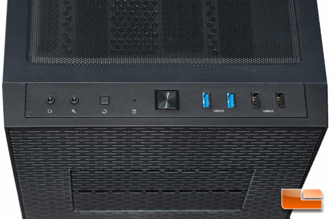 Thermaltake Core X71 - IO Panel