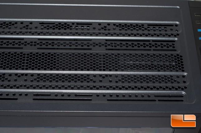 Thermaltake Core X71 - Top
