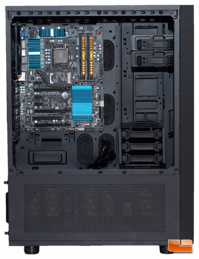 Thermaltake Core X71 - MB Installed