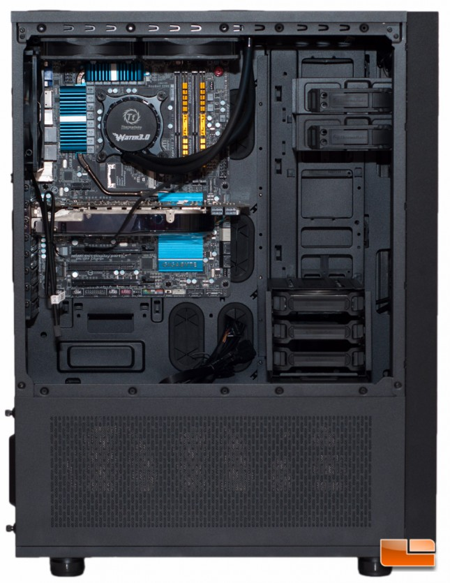 Thermaltake Core X71 - Video and Cooling