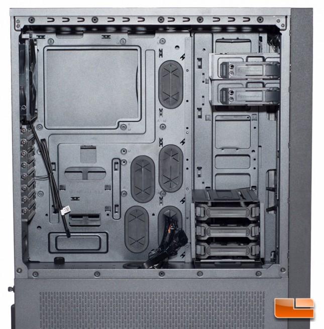 Thermaltake Core X71 - Top Chamber