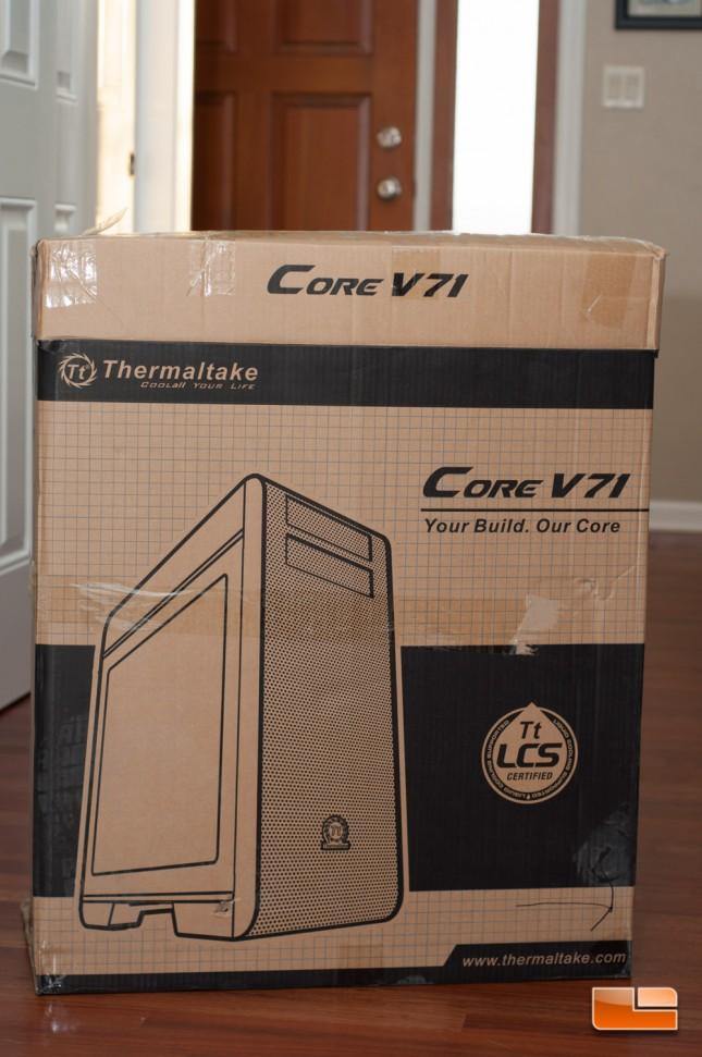 Thermaltake Core X71 - Teaser Box