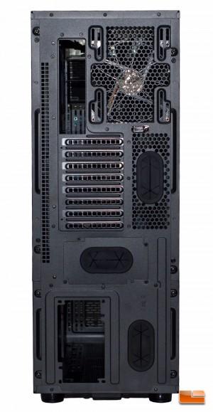 Thermaltake Core X71 - Rear