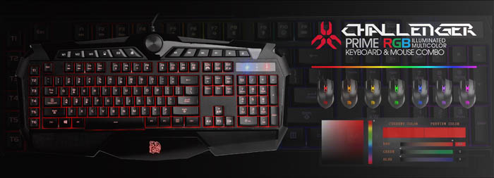 Tt Esports Launches Challenger Prime Rgb Keyboard And Mouse Combo Legit Reviews