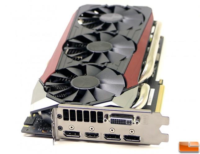 ASUS GeForce GTX 980 Ti Strix Display Outputs