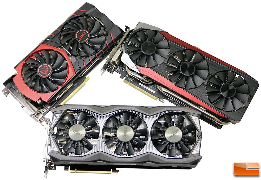 NVIDIA GeForce GTX 980 Ti Video Card Roundup – ASUS, MSI and