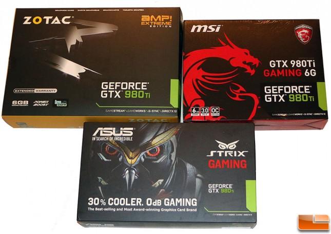 GeForce GTX 980 Ti Video Card Roundup