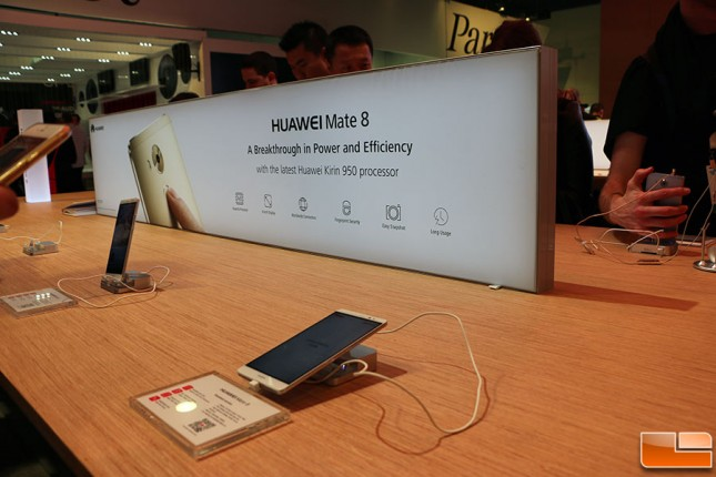 Mate 8 at CES 2016