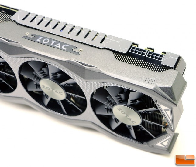 Zotac GeForce GTX 980 Ti AMP! Power Connectors