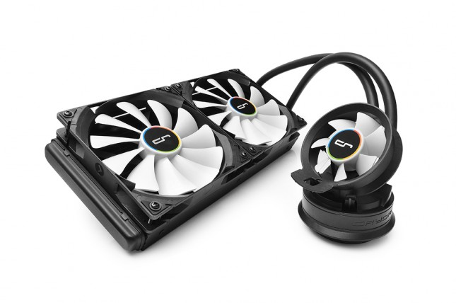 Cryorig A80 Ultimate Top Angled View