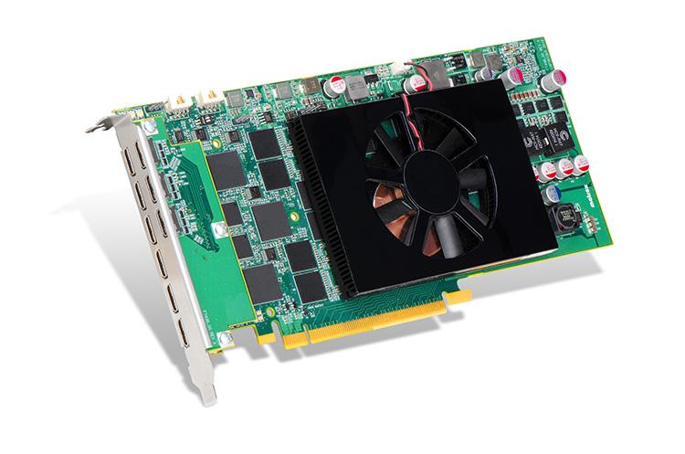 Matrox C900 Single Slot Graphics Card Can Power Nine