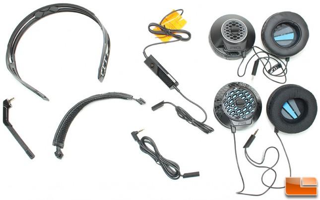 Plantronics RIG 500E Components