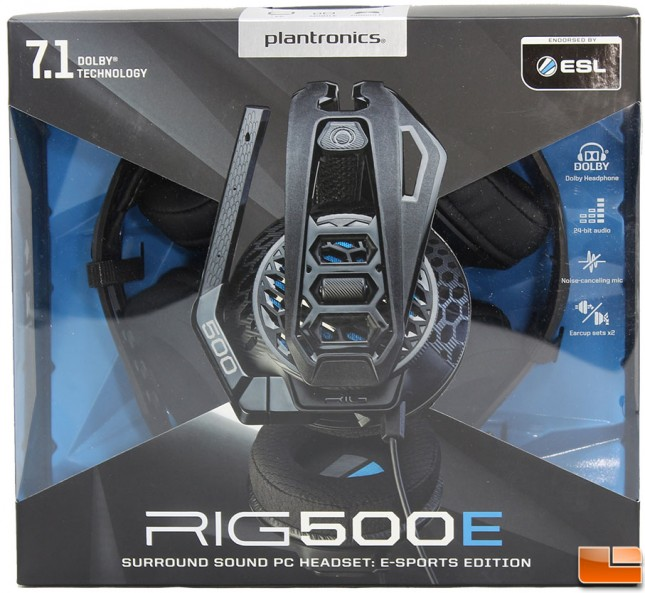 Plantronics RIG 500E Packaging Front