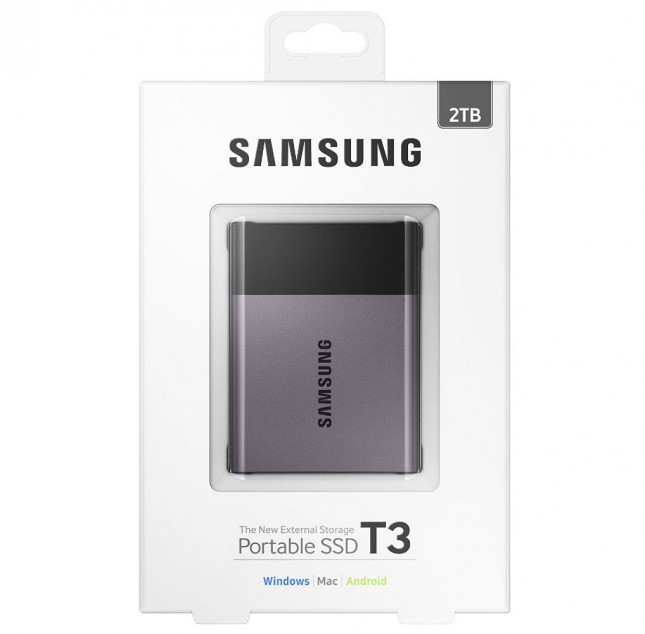 Portable SSD T3 Retail Packaging