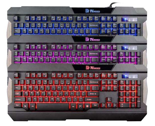 Tt Esports Commander Combo Multi Light Gaming Gear Combo