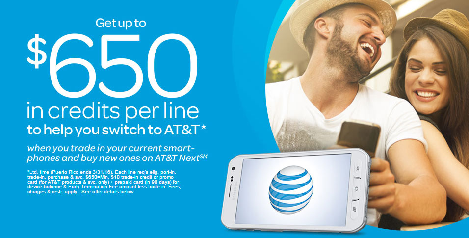 AT&T Now Offering $650 To Switch From Rivals - Legit Reviews