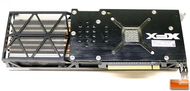 XFX Radeon R9 Fury Video Card Back